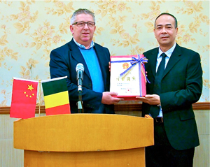 ondertekening van de deal in china